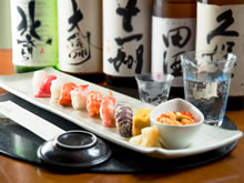 We are providing Sushi made of fresh seafood around sea of Otaru by cheap price